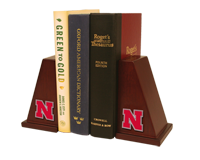 University of Nebraska Bookend - Spirit Medallion Bookends