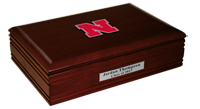 University of Nebraska Desk Box  - Spirit Medallion Desk Box