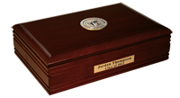 University of Medicine and Dentistry of New Jersey Desk Box  - Masterpiece Medallion Desk Box