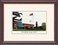 Grand Valley State University Lithograph Frame - Framed Lithograph in Studio Gold