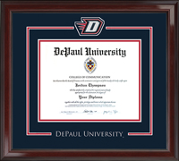 DePaul University Diploma Frame - Spirit Medallion Diploma Frame in Encore