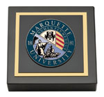 Marquette University Paperweight - Masterpiece Medallion Paperweight
