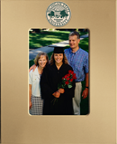 Michigan State University Photo Frame - MedallionArt Classics Photo Frame