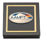 American Association for Marriage and Family Therapy Paperweight - Masterpiece Medallion Paperweight