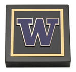 University of Washington Paperweight - Spirit Medallion Paperweight