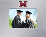Miami University Photo Frame - MedallionArt Classics Photo Frame