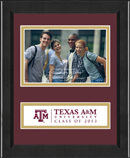 Texas A&M University Photo Frame - Lasting Memories Class of 2013 Banner Photo Frame in Arena