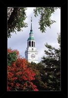 Dartmouth College Photograph Frame - Baker Library In The Fall Framed Photograph