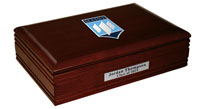 The University of Maine Orono Desk Box - Pewter Masterpiece Medallion Desk Box