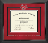Eastern Washington University Diploma Frame - Spirit Medallion Diploma Frame in Eclipse