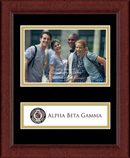 Alpha Beta Gamma Photo Frame - Lasting Memories Banner Photo Frame in Sierra