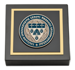 Saint Ambrose University Paperweight - Masterpiece Medallion Paperweight