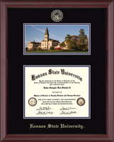 Kansas State University Diploma Frame - Campus Scene Edition Diploma Frame in Cambridge