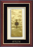 Phi Kappa Phi Stole Frame - Commemorative Stole Shadow Box Frame in Newport