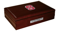 North Carolina State University Desk Box  - Spirit Medallion Desk Box