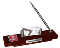 North Carolina State University Desk Pen Set - Spirit Medallion Desk Pen Set