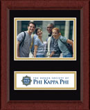 Phi Kappa Phi Photo Frame - Lasting Memories Banner Photo Frame in Sierra