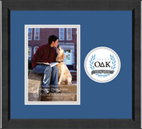Omicron Delta Kappa Photo Frame - 5'x7' - Lasting Memories Circle Logo Photo Frame in Arena