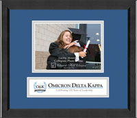 Omicron Delta Kappa Photo Frame - 5'x7' - Lasting Memories Banner Photo Frame in Arena