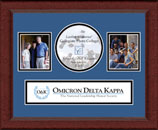 Omicron Delta Kappa Photo Frame - Lasting Memories Banner Collage Photo Frame in Sierra
