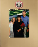 North Carolina State University Photo Frame - MedallionArt Classics Photo Frame