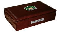 Ohio University Desk Box  - Pewter Spirit Medallion Desk Box