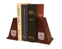 Loyola University Chicago Bookends - Masterpiece Medallion Bookends