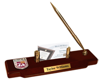 Loyola University Chicago Desk Pen Set - Masterpiece Medallion Desk Pen Set