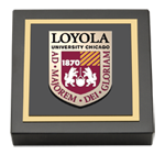 Loyola University Chicago Papeweight - Masterpiece Medallion Paperweight