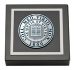 Middlebury College Paperweight - Pewter Masterpiece Medallion Paperweight