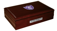 University of St. Thomas Desk Box - Shield Masterpiece Medallion Desk Box