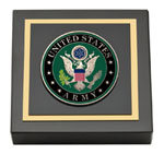 United States Army Paperweight - Masterpiece Medallion Paperweight