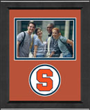 Syracuse University Photo Frame - Lasting Memories Circle Logo Spirit Photo Frame in Arena