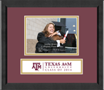 Texas A&M University Photo Frame - Lasting Memories Class of 2014 Banner Photo Frame in Arena