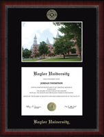 Baylor University Diploma Frame - Campus Scene Edition Diploma Frame in Sutton