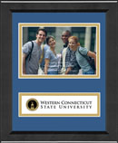 Western Connecticut State University Photo Frame - Lasting Memories Banner Photo Frame in Arena