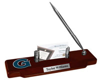 Georgetown University Desk Pen Set - Spirit Medallion Desk Pen Set