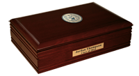 Georgetown University Desk Box  - Brass Masterpiece Medallion Desk Box