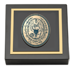 Georgetown University Paperweight - Brass Masterpiece Medallion Paperweight