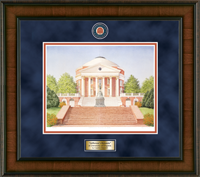 University of Virginia Diploma Frame - Framed Lithograph in Madison