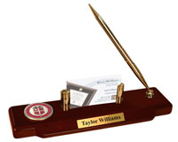 Texas Tech University Desk Pen Set - Masterpiece Medallion Desk Pen Set