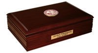 The University of Alabama Tuscaloosa Desk Box - Crimson Masterpiece Medallion Desk Box