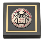 Clark University Paperweight - Masterpiece Medallion Paperweight