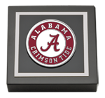 The University of Alabama Tuscaloosa Paperweight - Pewter Spirit Medallion Paperweight