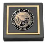 University of Colorado Colorado Springs Paperweight - Masterpiece Medallion Paperweight