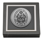 The University of Tennessee Knoxville Paperweight - Silver Engraved Medallion Paperweight