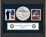 United States Navy Photo Frame - Lasting Memories Banner Collage Photo Frame in Arena