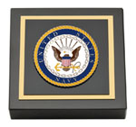 United States Navy Paperweight - Masterpiece Medallion Paperweight