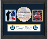 United States Coast Guard Photo Frame - Lasting Memories Banner Collage Photo Frame in Arena