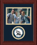 University of Pittsburgh at Bradford Photo Frame - Lasting Memories Circle Logo Photo Frame in Sierra